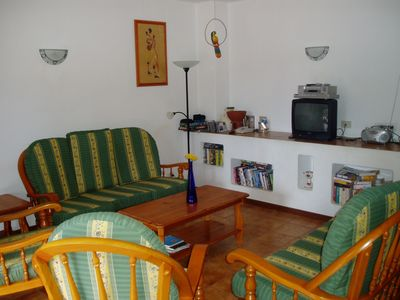 lounge of 3 bedroom villa