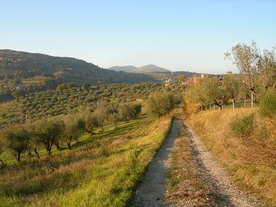 Apartment in green hill position, at 5 km from perugia