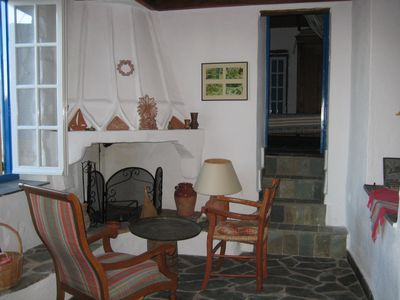 Fireplace upper house