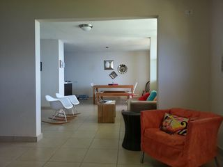 Aguadilla apartment photo - View of the living and dining areas from the family room. All have ocean view.
