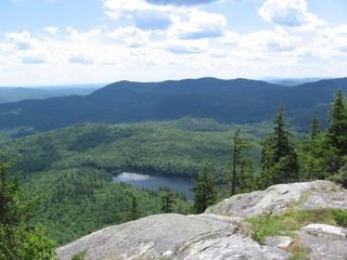 Woodstock lodge photo - Abbott Pond from top of Bald Mtn trail access from Camp Mollocket