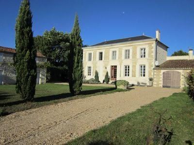 Beautiful and comfortable Charentaise house With Private heated Pool & Gardens