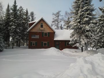 Winter wonderland. Fifty inches of snow in December!