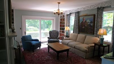 Family Room with access to deck