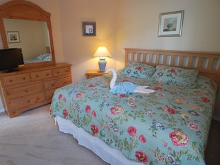 Terra Verde villa photo - Bedroom Three with King Size Bed