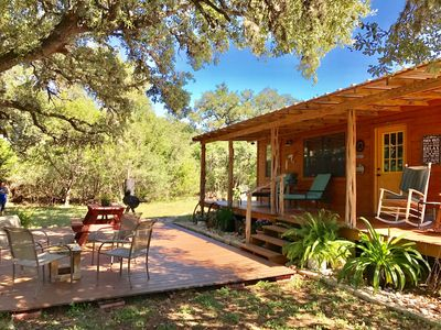 Secluded, Private Cabin on Four Sisters Ranch, near Lost Maples State Park!!