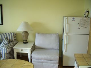 full size refrigerator - Isle of Palms condo vacation rental photo