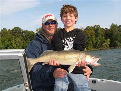 Ben's big walleye