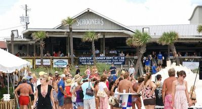 Schooners - Last Local Beach Club - right next door to Seychelles!!