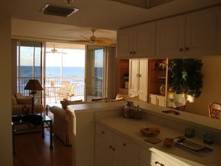 Vanderbilt Beach condo photo - Kitchen View Of Great Room, Lanai/Ocean