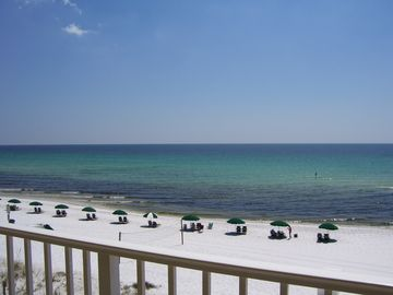 Okaloosa Island condo rental - Is Echos 4NO view from 32ft balcony