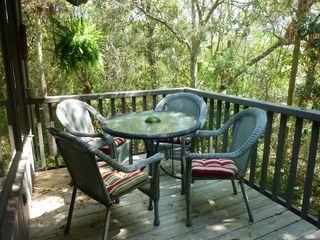 Kiawah Island villa photo - Rear Deck - Relax and Listen to the Ocean