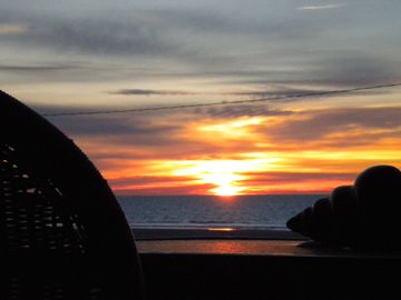 North Wildwood condo rental - Serenity awaits! Sunrise view from the Deck (& Great Room & 2 Master Bedrooms).