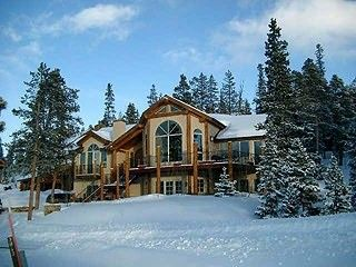 Breckenridge villa rental - LOVELY VILLA EAGLE AERIE IN SNOW.