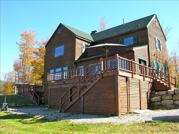 Saranac Lake cabin rental - Camp Tennessee - Adirondack log cabin