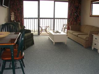 Ocean Dunes condo photo - Living Room with Flat Screewn TV
