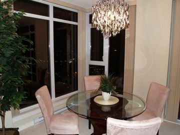 Dining Room Night View
