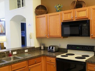 Spacious Kitchen with all the amenities you need.