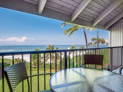 Gorgeous ocean views above Hideaways Beach!