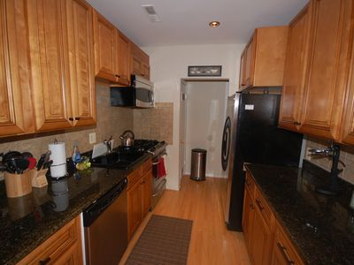 Downtown - Washington DC townhome rental - Alternate view of Galley Style Kitchen
