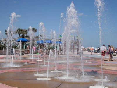 Splash Park 5 min. walk... Let the kids have fun while you relax and tan. Ahhh!