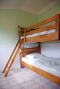 3rd Bedroom with bunk beds (which can be separated & placed side by side).
