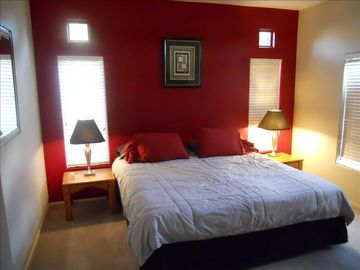 Scottsdale North condo rental - Tastefully done master bedroom has King bed, reshly painted and HDTV too!