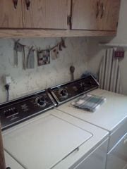 Walker cabin photo - Washer and Dryer