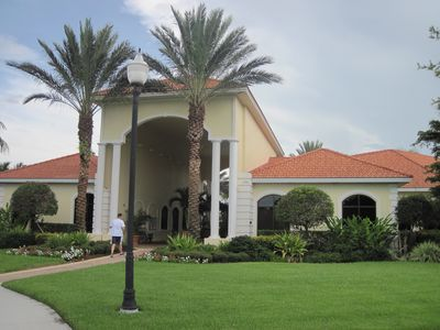 Club House with fitness room, tennis courts and community pool