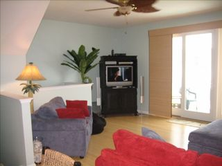 Vacation Homes in Ocean City townhome photo - Living Room