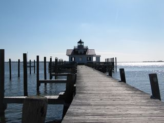 Manteo house photo - Manteo lighthouse