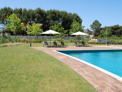 Cascais apartment rental - Gardens and Pool