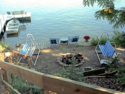 Buckles FirePit and Swimming Area-Sweet!