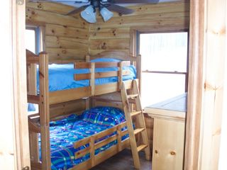 Athens - Sleepy Hollow Lake cabin photo - Bunkbeds in 3rd bed room
