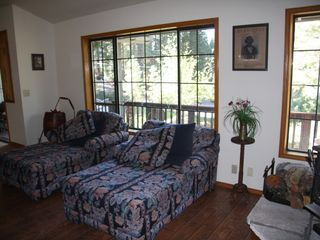 Lake Almanor house photo - The napping chairs-a wonderful place to relax.