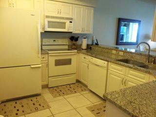 Vanderbilt Beach condo photo - Granite Counter Tops, Plenty of Storage