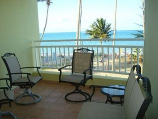 Loiza apartment photo - Amazing view at rear back balcony.