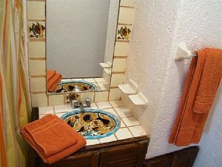 Playa del Carmen condo photo - Bathroom with talavera sink