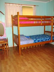 Sunset Beach house photo - Twin bunk beds and lots of toys for the keiki