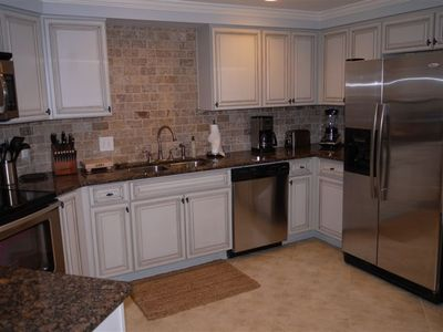 Kitchen with Stainless Steel Appliances, Cuisinart Countertop Appliances