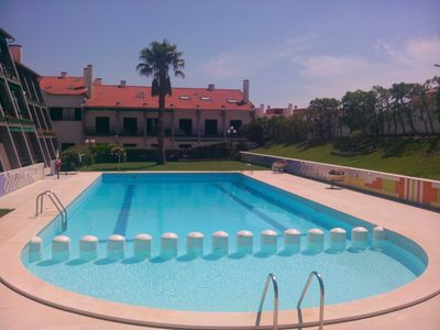 Closed Building Residential flat-with garden and pool ideal for parents with small children