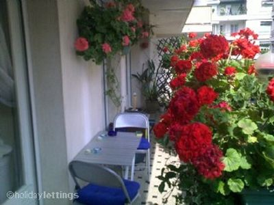 Central Nice apartment rental - Sunny planted terrace
