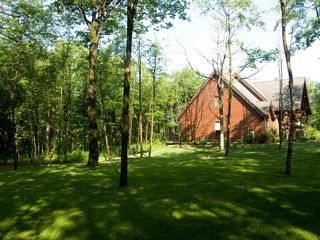 Seven Springs house photo - Side yard plenty of room for outdoor fun