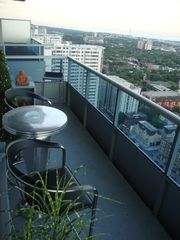 Toronto condo photo - 100SQFT Balcony Facing south Towards the Lake & Downtown