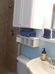Hutchinson Island house photo - private bathroom with large tiled shower