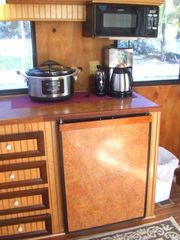 Islamorada house boat photo - Small appliances included.