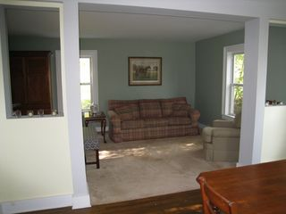 Roscoe farmhouse photo - Second sitting area, next to dining room