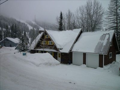 The chalet sits near the bottom of chair 3.