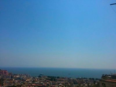 Lovely apartment panoramic view, on the Gulf of Naples