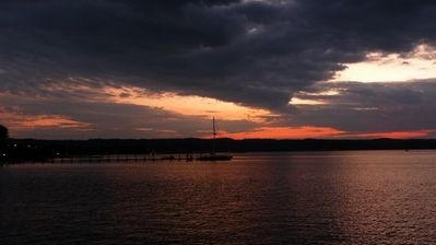 Quiet sunset, West  Grand Traverse Bay. This could be you.